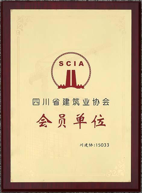 四川省建筑業協會-會員單位