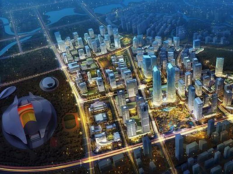 南寧五象新區核心區商務街項目
