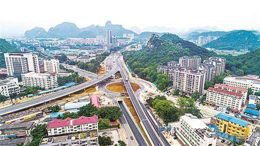 柳州市五岔路口改造工程